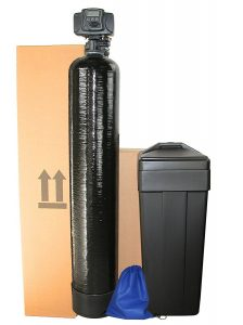 ABCwaters built waters Fleck 5600 SXT 64,000 Grain with Iron Mesh Well Water Softener